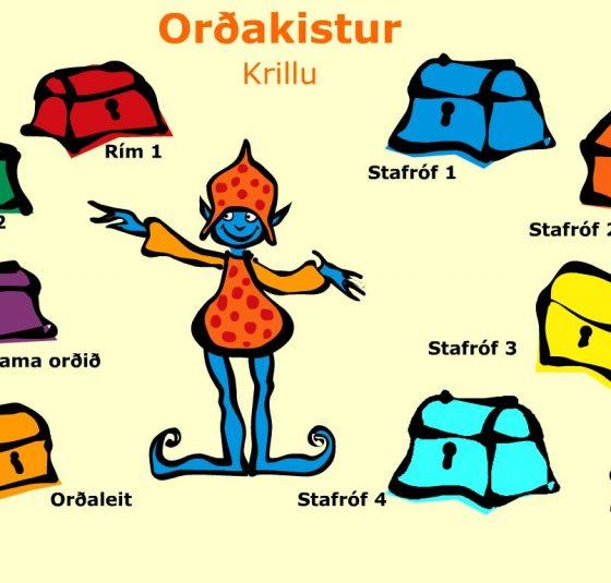 Orðakistur - Krillu