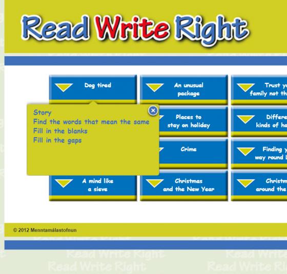 read write right
