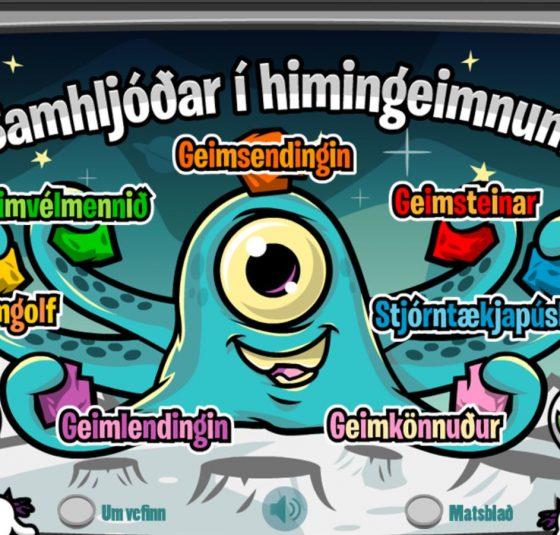 samhljóðar í himingeimnum